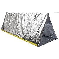 Gazechimp Pliable Tente Abri D'urgence Portable pour Camping Survie en Plein Air