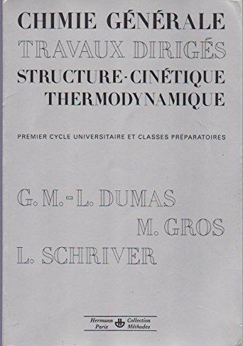 Chimie generale : travaux diriges : premier cycle universitaire et classes préparatoires