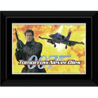 James Bond - Tomorrow Never Dies Framed and Mounted Print - 14.4x9.2cm