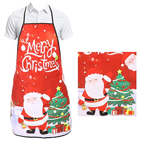 Weihnachtskostüm Adult - Schürze Fantasy Funny für Barbecue Party Geschenk Schürze Funny Women Adult Dinner Weihnachtskostüm, Santa & XMAS Tree