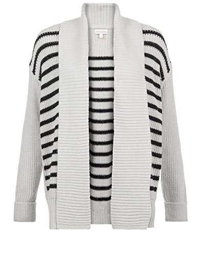 Monsoon Cardigan à rayures Cleo - Femme Gris