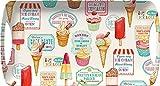 Creative Tops Tablett im Stil der 50er Jahre, mit Griffen, Motiv Süßigkeiten im Retro-Look, klein, mehrfarbig