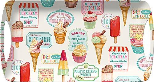 Creative tops M284984 - Bandeja melamina 38 5x20cm helados