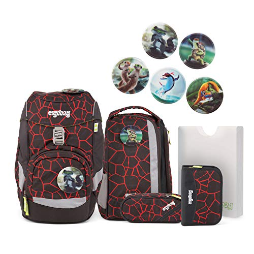 Ergobag Pack SupBärheld - Set zaino per la scuola, 6 pezzi Disponibile in diversi modelli.