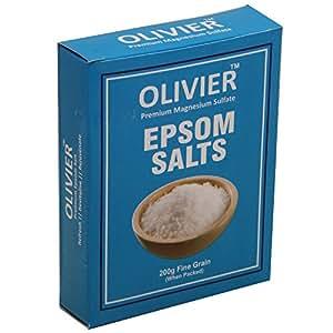 Olivier Premium Epsom Salt (200 GM)