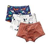 Best Toddler Boy Underwear - Boy's Boxer Briefs Comfortable Cotton Short Toddler Underwear Review