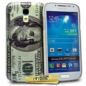 Accessory Master Coque hybride pour Samsung Galaxy S4 Mini i9190 Motif 100 Dollar Conception
