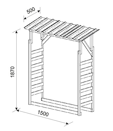 Kaminholzregal-aus-Holz-Brennholzregal-Kaminholzunterstand-Holzunterstand-mit-Trapezblech