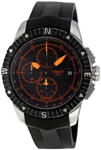Tissot Orologio Cronografo Automatico Uomo con Cinturino in Gomma T062.427.17.057.01