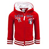 Dress-O-Mat Mädchen Sweatjacke Pullover Jacke Minnie Mouse Gr 104 4 J rot