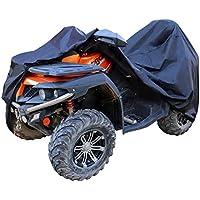 AmazonBasics – Wetterfeste Standard-Abdeckung für Geländefahrzeuge, 150-D-Oxford, Geländefahrzeuge bis 190cm