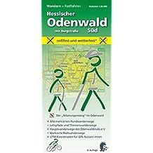 Wandern + Radfahren, Hessischer Odenwald Süd mit Bergstraße: Der Nibelungensteig im Odenwald; Alle markierten Rundwanderwege; Lehrpfade und ... für GPS-Nutzer/innen. 1:30.000
