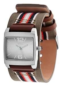 s.Oliver Damen-Armbanduhr Analog Textil SO-2366-LQ