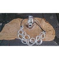 bracciale alluminio fatto a mano