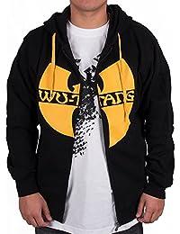 Wu Wear - Wu Tang Clan Zipper Hooded black/yellow - Wu-Tang Clan Tamaño L, Color asignado Black