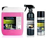 wico Clean Auto Kit d'entretien Cockpit Produit anti-insectes–Entretien–Nettoyant agrumes 5,9L