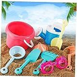 Ruijanjy 9 Pz Sandpits Giocattoli di Sabbia, per Bambini I Bambini della Sabbia della Spiaggia Sandbeach Giocattoli Castello Benna Spade Pala Rake Strumenti Nautici per I Regali dei Bambini Educativi