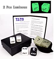 Dice Love Dice Glow for Bachelor Party Couple Gift