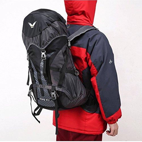 Riding sacchetto impermeabile ultraleggeri I nuovi campeggio esterna di zaino sacchetti di alpinismo professionale nero