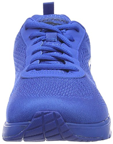 Skechers Air Infinity Vivid Color, Baskets Basses Femme Bleu - Bleu
