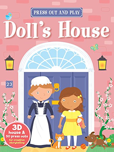 y Book Doll's House (Press Out & Play Books) ()