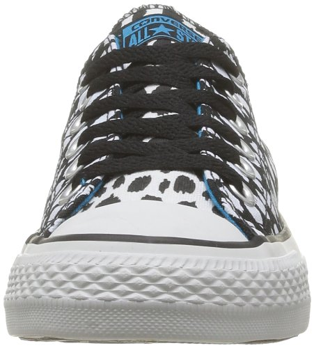 Converse  Chuck Taylor Ani Print Ox,  Sneaker donna Black Optic White