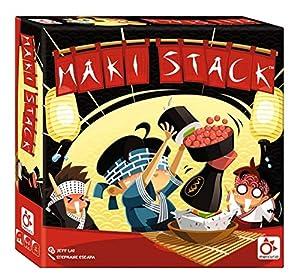 Mercurio- Juego Maki Stack ORDENA Y EQUILIBRA EL Sushi LOS Platos Y LA Salsa DE Soja, (BO0008)