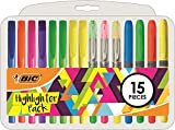 BIC 958149surligneurs Stylo–Multicolore (lot de 15)