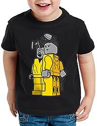 style3 Brick Bad T-Shirt pour enfants white meth walter crystal breaking tv serie