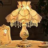 TIAMO Home Store kreative europäische bett lampe schlafzimmer lampe pastoralen einfachheit leuchten Tischleuchte