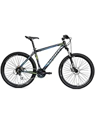 "VERTEK bicicleta MTB Gravity 27,5"" 24 velocita'negro/azul (MTB)/Bicycle MTB Gravity 27,5"" speed Black 24/(MTB) Light Blue"
