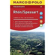 MARCO POLO Freizeitkarte Blatt 28 Rhön, Spessart 1:100 000: im Dispenser mit 10 Exemplaren (MARCO POLO Freizeitkarten)