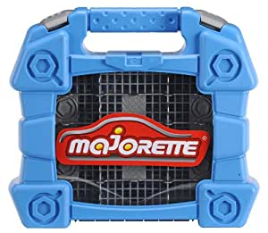 Majorette - 213315354 - Véhicule Miniature - Majorette Car Case - Bleu