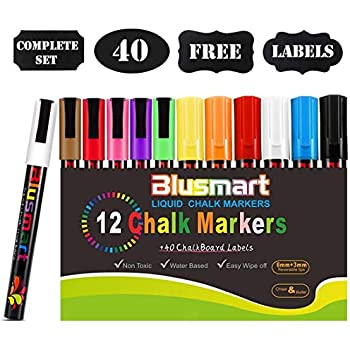 Childrens Black Board and Pen Kids Art Box Black Eraser Dry Wipe Chalk Board