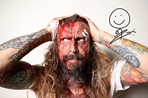ROB Zombie firmato Stampa fotografica-Superba qualità-30,5x 20,3cm (A4)