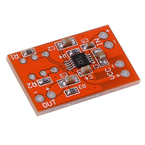 guoxuEE Mikrofonvorverstärkerplatine Geräuscharmes COMP-Kompressionsmodul DC 3V-5V rot