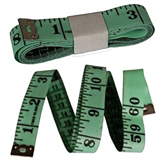 1 Tailors Tape Measure green ( hi )