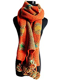 Butterme longue écharpe en tricot pour femme, chaude écharpe d hiver,  foulard à 597fad09098