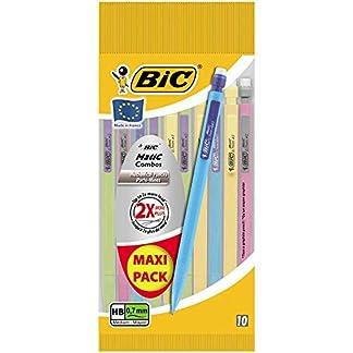 Bic Matic Combos – Lote de 10 portaminas (0,7 mm)