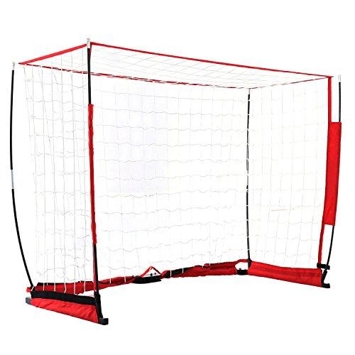YUEBO Faltbar Fussballtor mit Netz für Kinder/Erwachsene für Innen/Garten/Im Freien-3 Größen, fußballtor mit Tragetasche