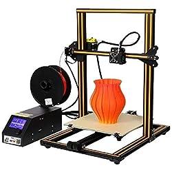 Creality 3D CR-10 Impresora 3D Prusa I3 DIY Kit de aluminio Tamaño de impresión grande 300x300x400mm