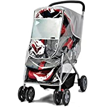 ZEEUPAI - Protector de lluvia viento universal para cochecito carrito carro silla de paseo de bebé