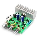 Quiet.T TDA7265 2 40W Carte d'amplificateur de Puissance Audio Bluetooth, Module de Carte d'amplificateur stéréo stéréo Haute fidélité Haute fidélité