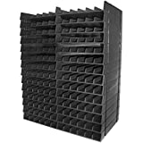 Crafters Companion Spectrum Noir Ink Pen BLACK Storage Unit 14 trays for 168 pen