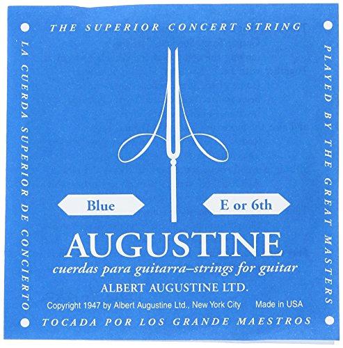 Augustine corde per chitarra classica corde singole mi6 blue label