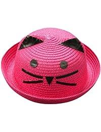 Amazon.es  sombrero de paja niño - Sombreros y gorras   Accesorios  Ropa 40fdd2480f6