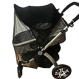 Kinderwagen Universal Sunshine Ray Shade Pram UV-Schutzabdeckung, Wetterschild, elastisches Gewebe für Infant Kids-Upgrade mit Moskitonetz