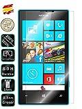 Movilrey Protector para Nokia Lumia 520 Cristal Templado de Pantalla Vidrio 9H para movil