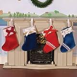 The Dolls House Emporium Luxury Christmas Stockings, 4 Pcs