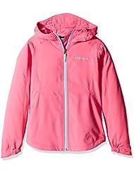 Columbia Splash Flash II Hooded softshell, veste coupe-vent imperméable enfant